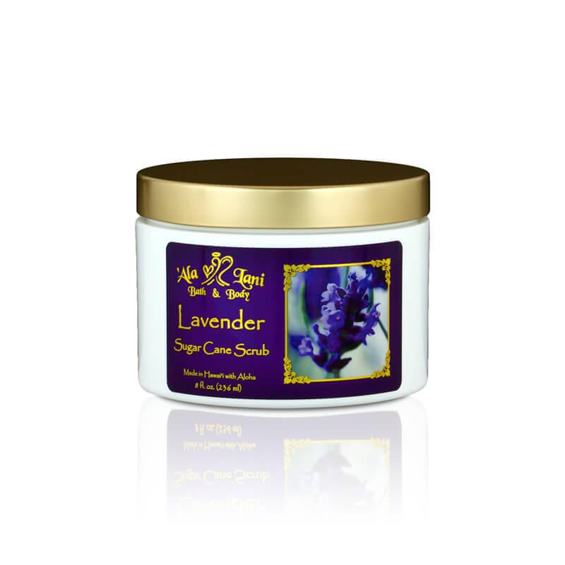 Lavender Sugar Cane Scrub