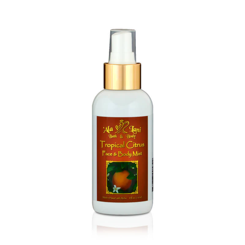 Tropical Citrus Face & Body Mist