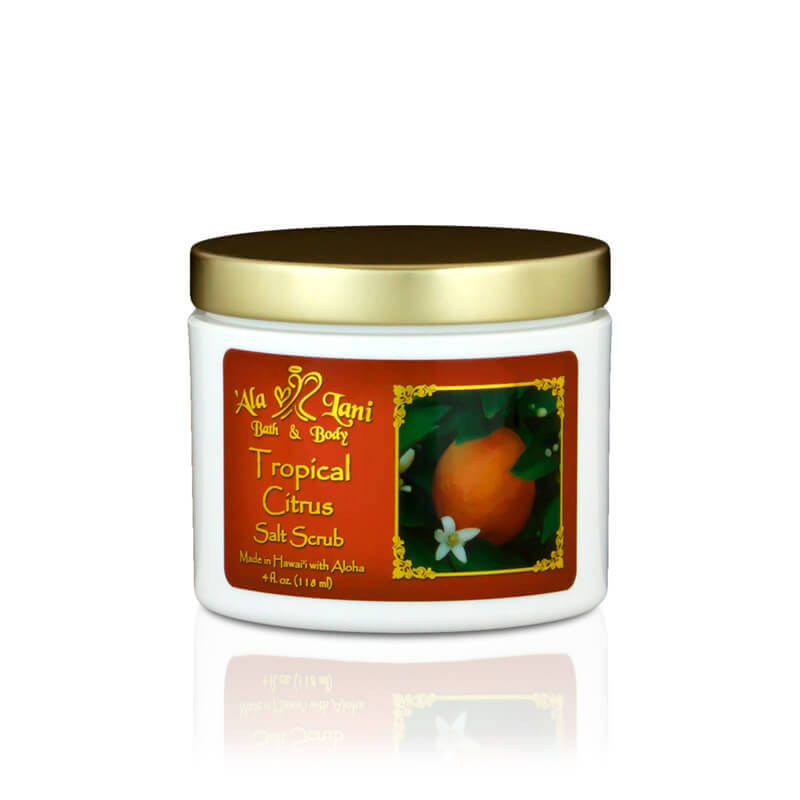 Tropical Citrus Salt Scrub